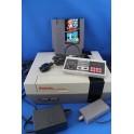 Nintendo set met mario bros/duck hunt (verkleurd)